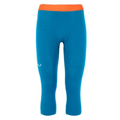 Pánské spodky Salewa Cristallo Warm Merino 3/4 cloisonne blue 28209-8660