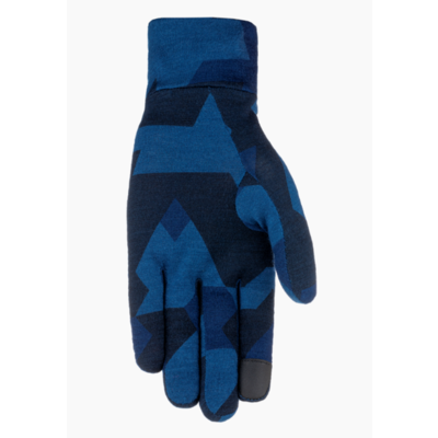 Rukavice Salewa Cristallo liner gloves navy camou 28214-3938, Salewa