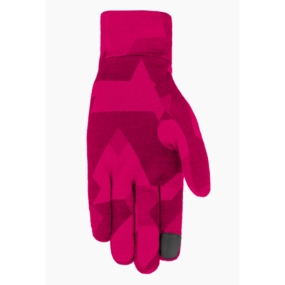 Rukavice Salewa Cristallo liner gloves rhodo camou 28214-6319, Salewa