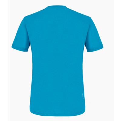 Pánské tričko Salewa Printed Box Dry blue danube melange 28259-8989, Salewa