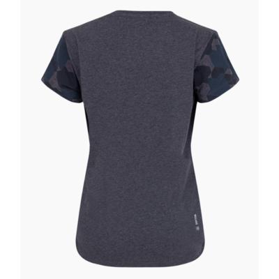 Dámské tričko Salewa Camou Sleeve Dry premium navy melange 28260-3986, Salewa