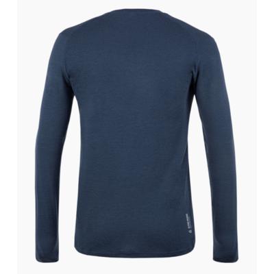 Pánské tričko Salewa Pure logo merino responsive long Sleeve Tee navy blazer 28262-3960, Salewa