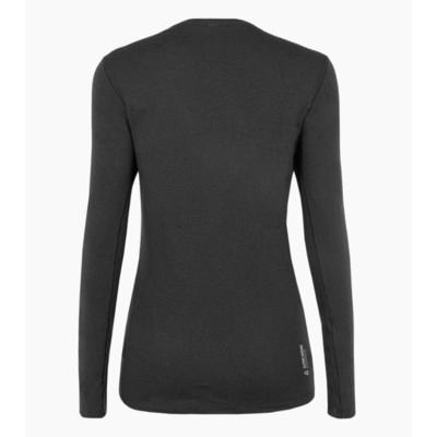 Dámské tričko Salewa Pure logo merino responsive long Sleeve Tee black out 28263-0910, Salewa