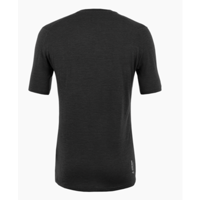 Pánské tričko Salewa Pure logo merino responsive black out 28264-0910, Salewa