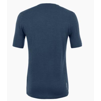 Pánské tričko Salewa Pure logo merino responsive navy blazer 28264-3960, Salewa