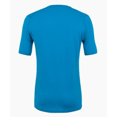 Pánské tričko Salewa Pure logo merino responsive cloisonne blue 28264-8660, Salewa