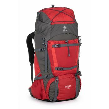 Turistický batoh 70 L Kilpi BIGGY-U červený, Kilpi
