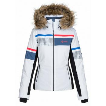 Dámská vyhřívaná lyžařská bunda Kilpi ANIELA-W bílá, Kilpi