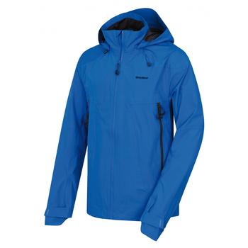 Pánská outdoor bunda Husky Nakron M neonová modrá, Husky