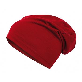 Merino čepice Husky Merhat červená