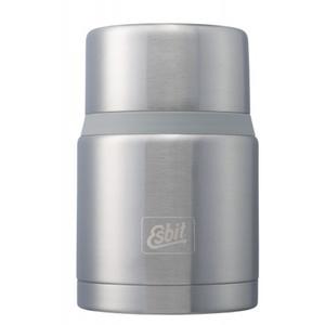 Vakuová termoska na jídlo z nerez oceli Esbit Lux s lžičkou 0,75 l Grey FJ750SP-BS