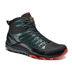 Boty Asolo Grid Mid GV MM black/red/A392, Asolo
