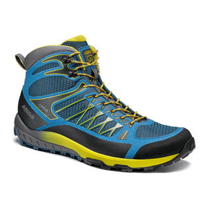 Boty Asolo Grid Mid GV MM indian teal/yellow/A898, Asolo