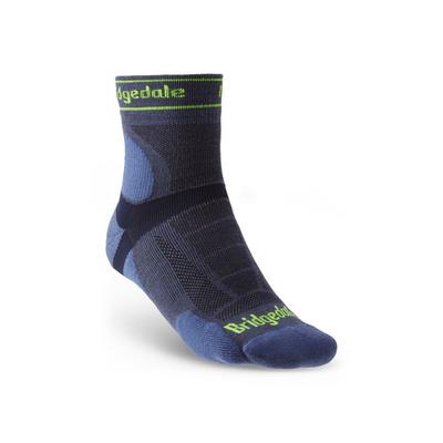 Ponožky Bridgedale TRAIL RUN UL T2 MS 3/4 CREW Blue/436, bridgedale