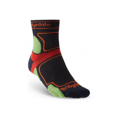 Ponožky Bridgedale TRAIL RUN UL T2 CS 3/4 CREW Navy/445, bridgedale