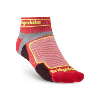 Ponožky Bridgedale TRAIL RUN UL T2 CS LOW Red/325