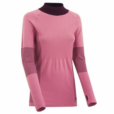 Dámské sportovní triko s dlouhým rukávem Kari Traa Sofie 622041, růžová