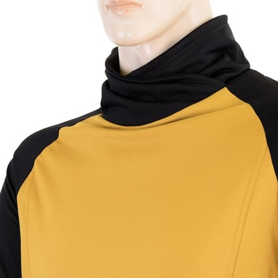 Pánská mikina Sensor Coolmax Thermo mustard/černá 20200049, Sensor