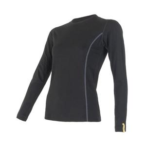 Dámské triko Sensor Merino Wool Active černé 11109024