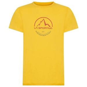Pánské tričko La Sportiva Logo Tee yellow