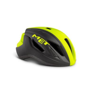 Helma MET Strale černá/reflex žlutá, Met