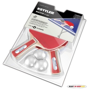 Set pálek na stolní tenis Kettler Match 7091-500, Kettler