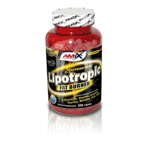 Redukce hmotnosti Amix Lipotropic Fat Burner 200cps, Amix