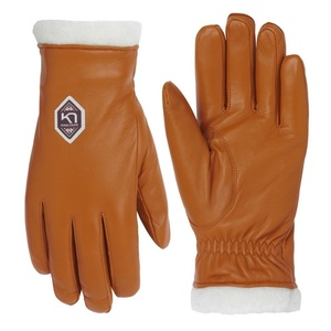 Dámské kožené rukavice Kari Traa Himle Rust, Kari Traa