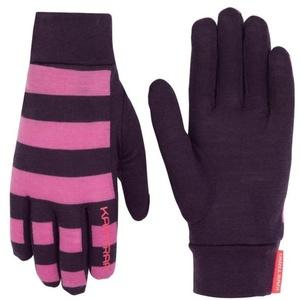 Dámské vlněné rukavice Kari Traa Ulla Mauve, Kari Traa
