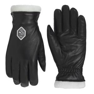 Dámské kožené rukavice Kari Traa Himle Black, Kari Traa
