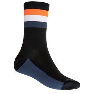 Ponožky Sensor COOLMAX SUMMER STRIPE černá/oranžová 20100039
