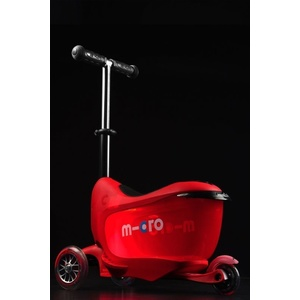 Koloběžka Micro Mini2go Deluxe Plus Red, Micro