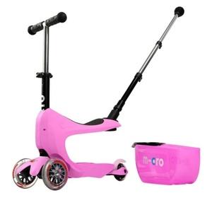 Koloběžka Micro Mini2go Deluxe Plus Pink, Micro