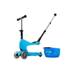Koloběžka Micro Mini2go Deluxe Plus Blue, Micro