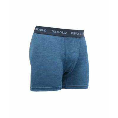 Pánské lehké pohodlné vlněné boxerky Devold Breeze GO 181 145 A 258A, modrá, Devold