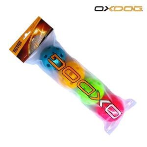 Sada florbalových míčků Oxdog Rotor Ball Color Tube, Oxdog