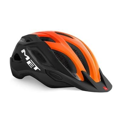 Helma MET Crossover černá/oranžová, Met