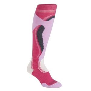 Ponožky Bridgedale Control Fit Midweight Women´s 311 raspberry/pink