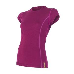 Dámské triko Sensor Merino Wool Active lila 12110024