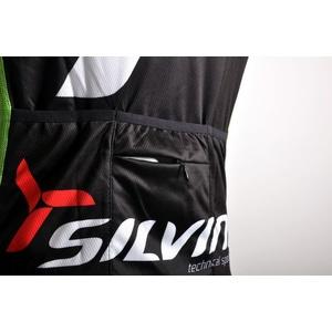 Pánský cyklistický dres Silvini Team MD257 black