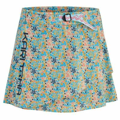 Dámská sportovní sukně s integrovanými šortkami Kari Traa Signe skort 622803, modrá, Devold