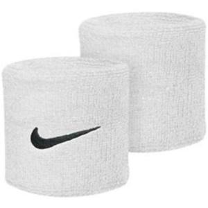 Potítko Nike Swoosh Wristband white, Nike