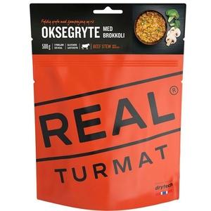 Real Turmat Dušené hovězí s rýží a brokolicí, 120 g, Real Turmat