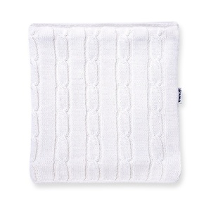 Pletený nákrčník Kama S15 100 bílá, Kama