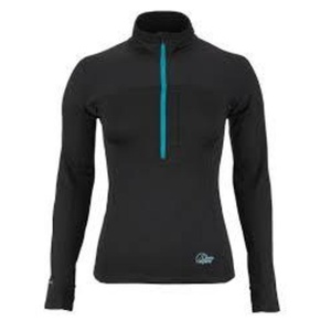Rolák Lowe Alpine Powerstretch Zip Top Women´s černá, Lowe alpine