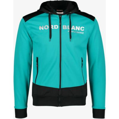 Pánská sportovní mikina Nordblanc s kapucí NBSMS5615_MOL, Nordblanc