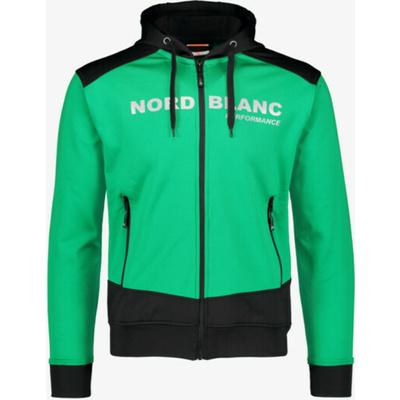 Pánská sportovní mikina Nordblanc s kapucí NBSMS5615_ZLN, Nordblanc