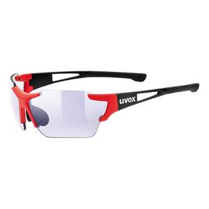 Sportovní brýle Uvex SPORTSTYLE 803 RACE VM Black Red Mat (2303) , Uvex