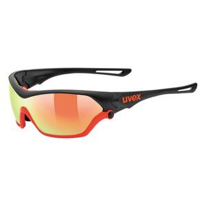 Sportovní brýle Uvex SPORTSTYLE 705 Black Mat Orange (2316) , Uvex