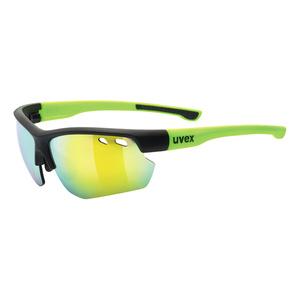 Sportovní brýle Uvex SPORTSTYLE 115 Black Mat Yellow (2616), Uvex